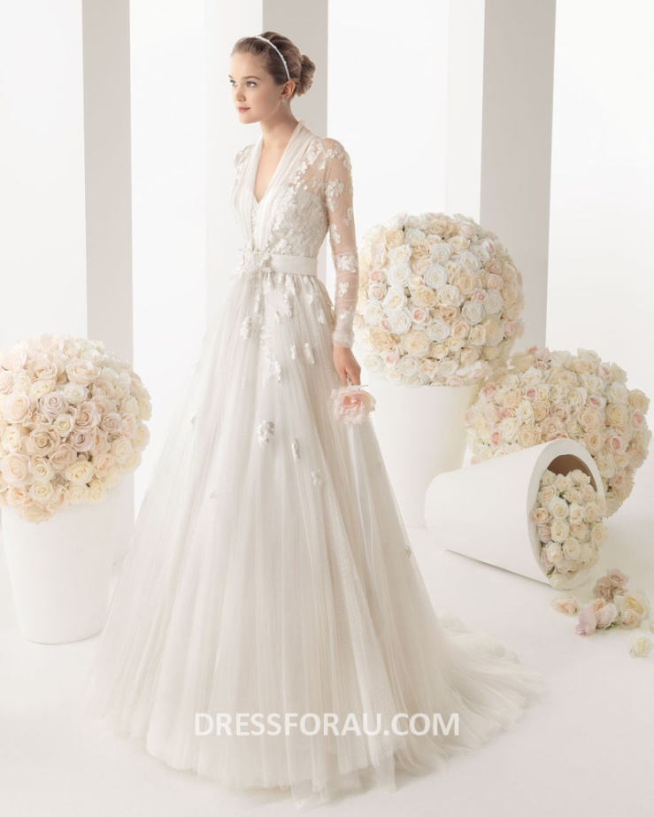Wedding-Dresses of spring